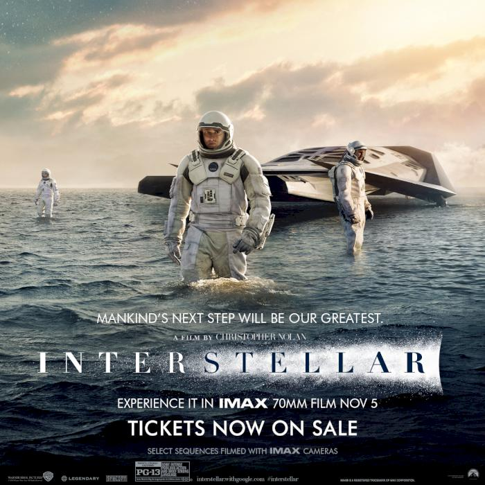 Interstellar in 70mm IMAX