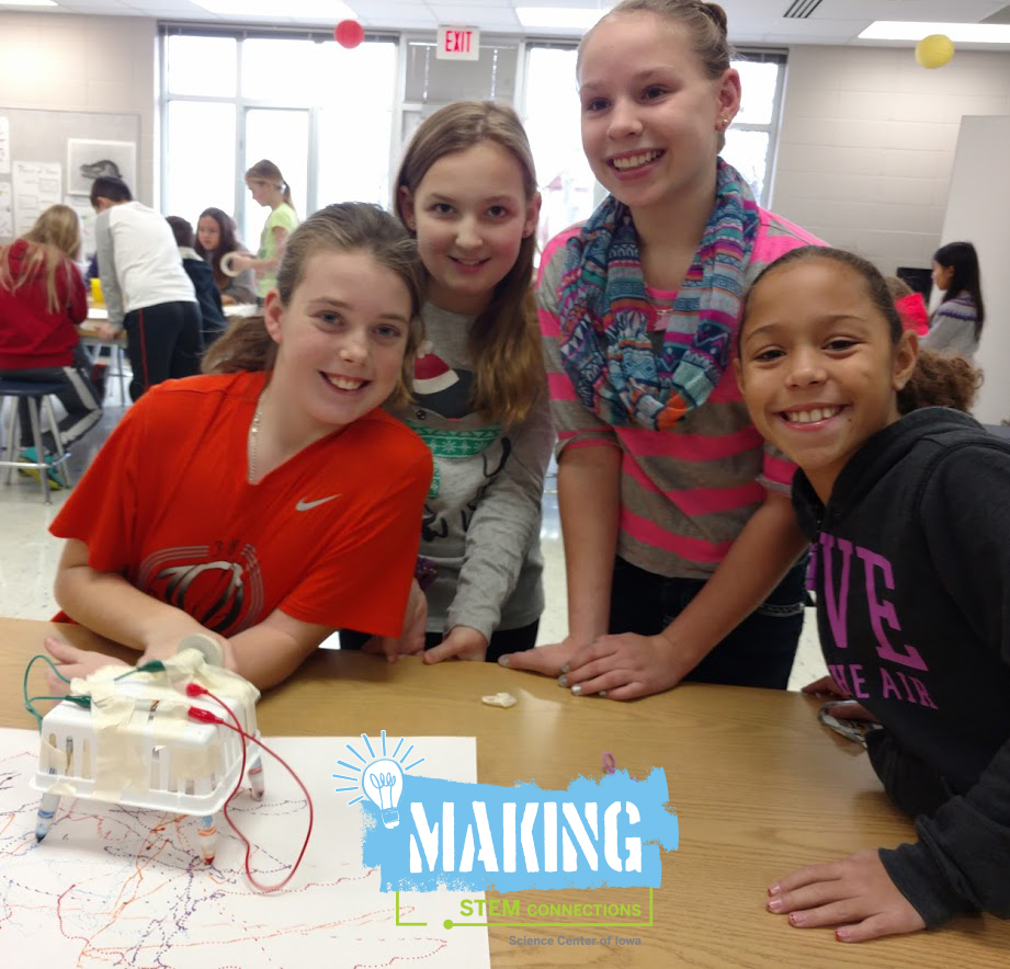 The Math of Making STEM Connections