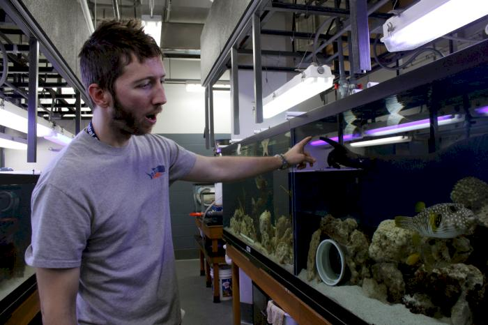 STEM in DSM: Marine biology teacher empowers students to save the nautilus