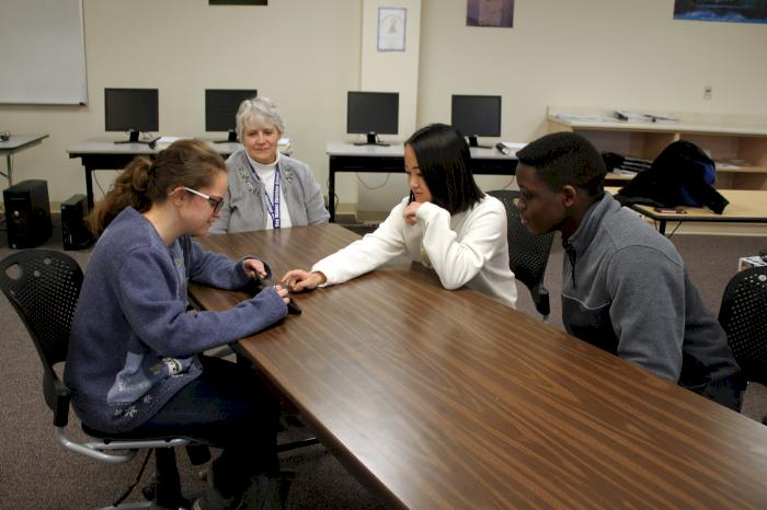STEM in DSM: Students develop SCI app and a new relationship with technology